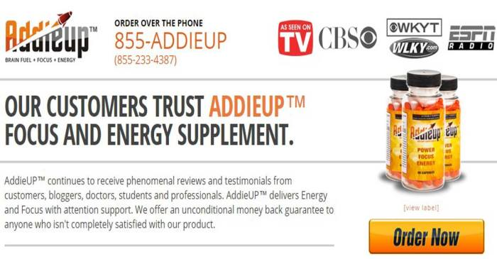 addieup supplement